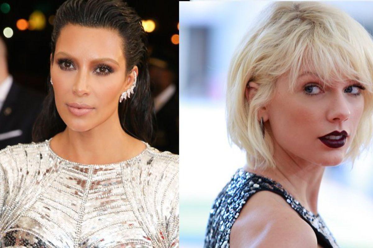 Watch Kim Kardashian Go AWF About Taylor Swift's Feud With Kanye West