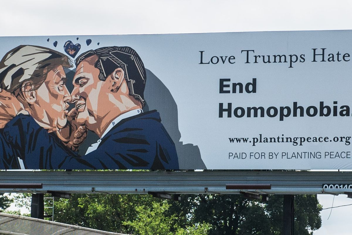 This Donald Trump/Ted Cruz Billboard Will Make Your Week (Really, I Promise)