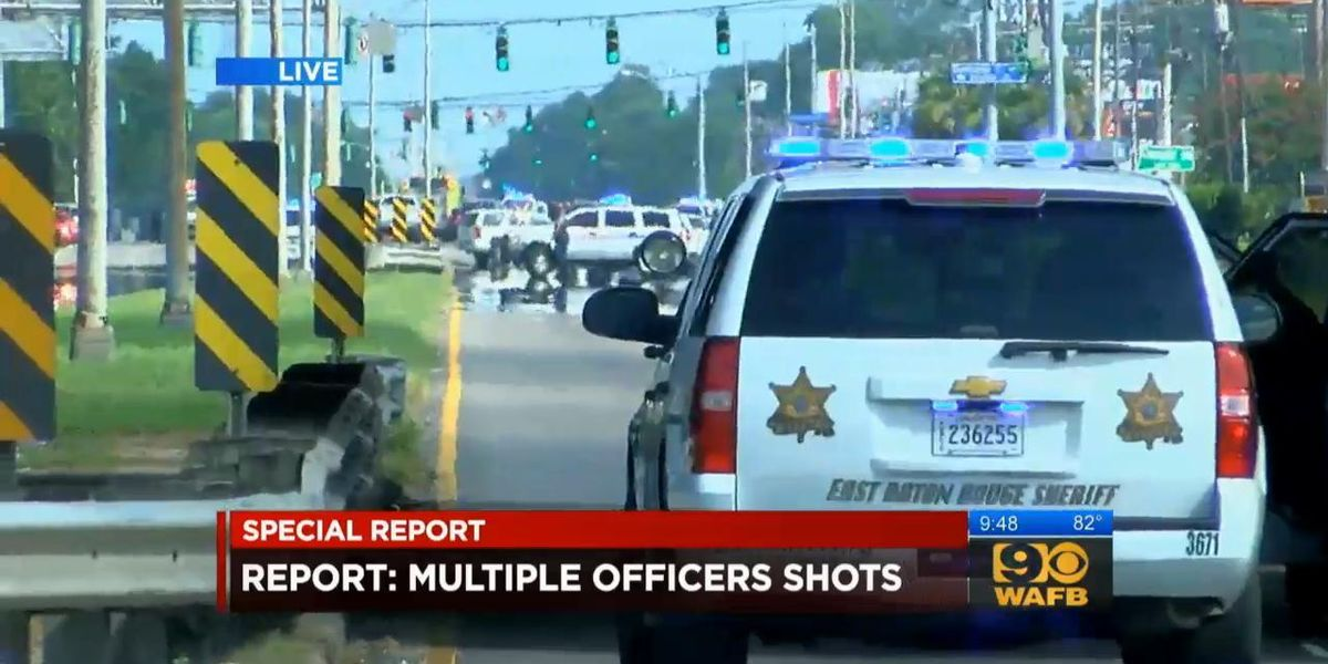 Three Police Officers Shot Dead, Three Wounded in Baton Rouge
