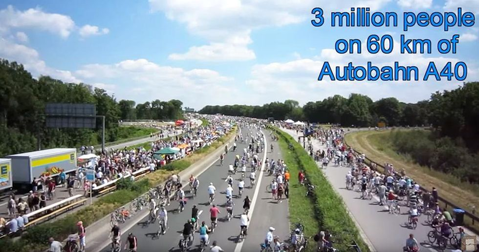Germany's 62-Mile Bike Highway to Connect 10 Cities + 4 Universities