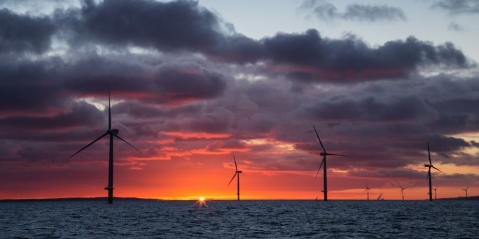 Offshore Wind Powers Ahead in Europe