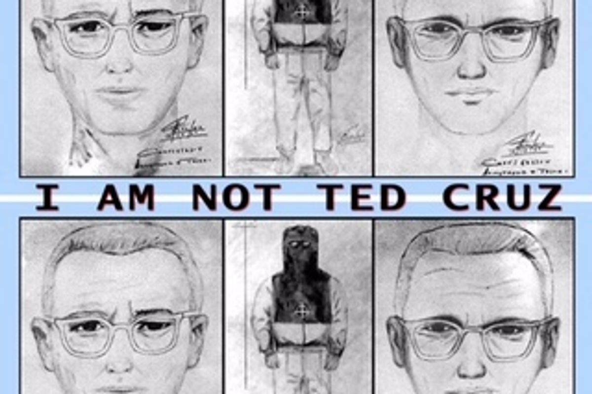 "Listen To ""THIS IS THE ZODIAC SPEAKING.... I AM NOT TED CRUZ,"" Hardvapour's New Spoof On The Republican National Convention"