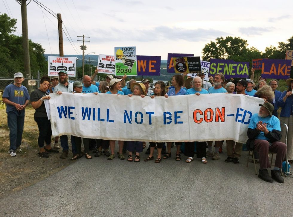 53 Arrested Protesting Gas Storage Near Seneca Lake
