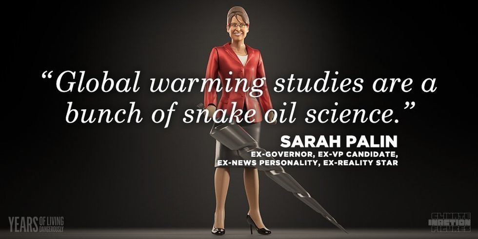 Climate Inaction Figures: They Distort Facts, Twist Logic and Reject Science