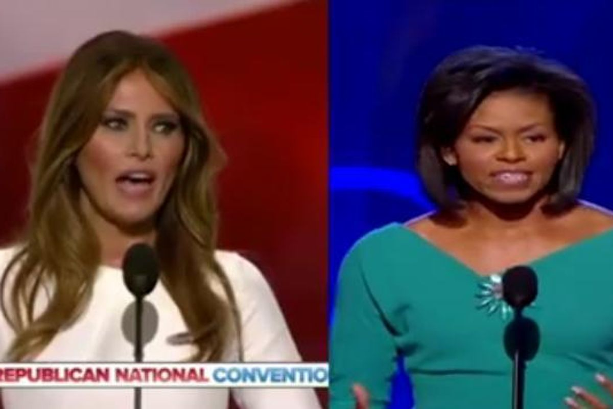 UPDATE: The Best of The #FamousMelaniaTrumpQuotes Hashtag