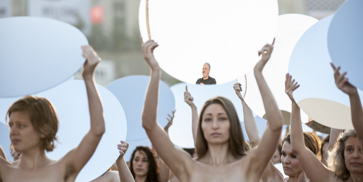 Spencer Tunick On His Nude Protest of the RNC
