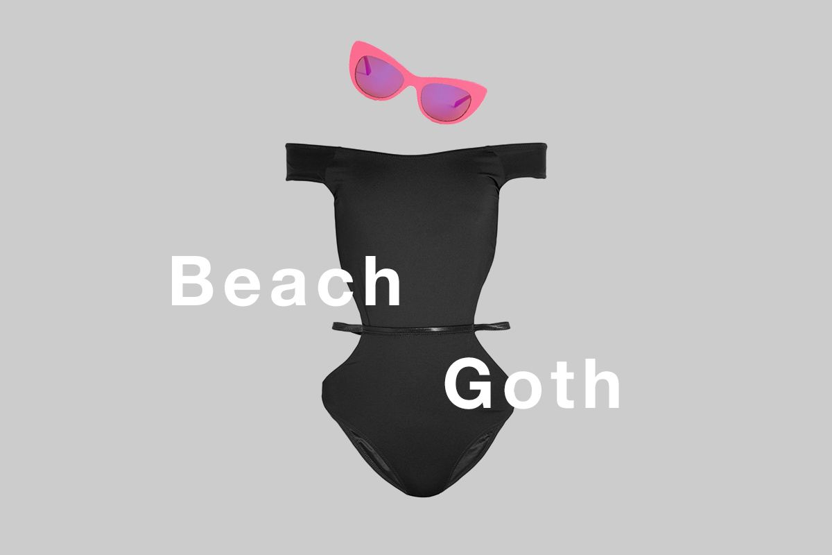 Get the Look: Beach Goth