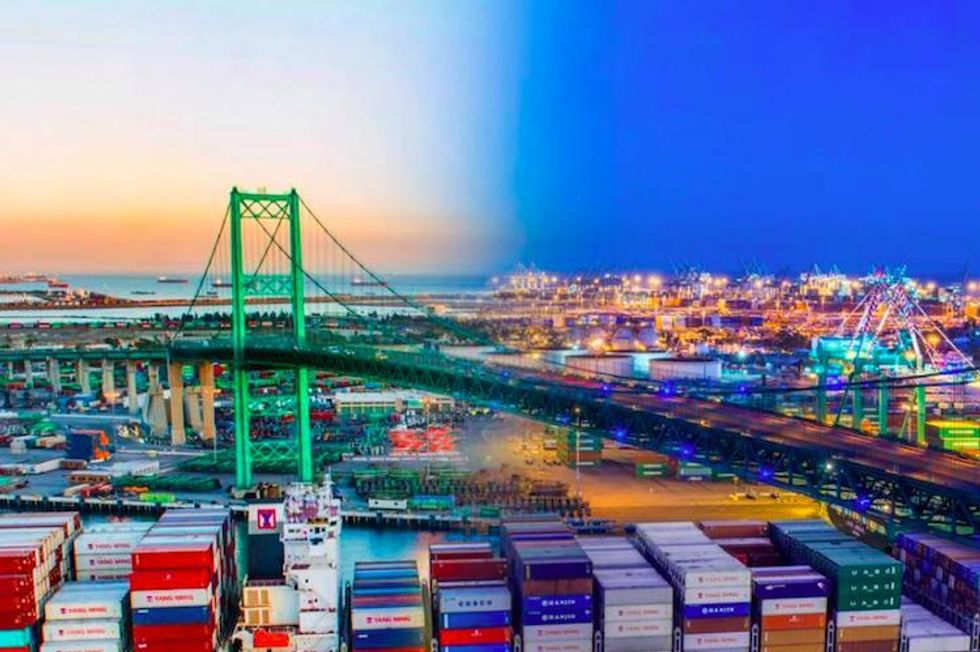 Port of LA to Open World's First Off-Grid Terminal Powered Entirely by Renewables