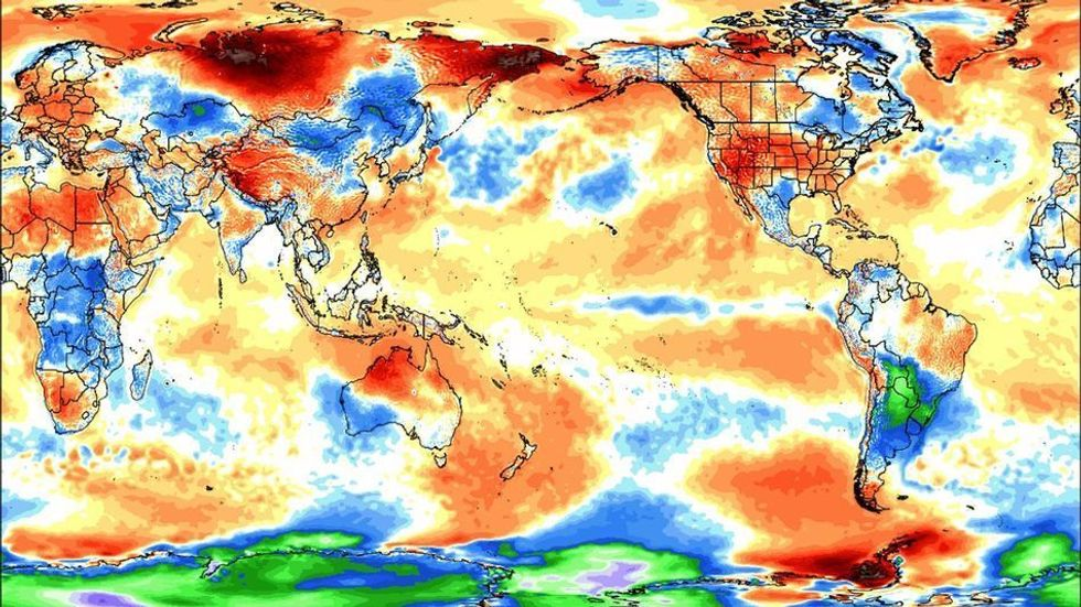 June Was Earth's 14th Straight Record Warm Month, Greenland Loses Shocking 1 Trillion Tons of Ice