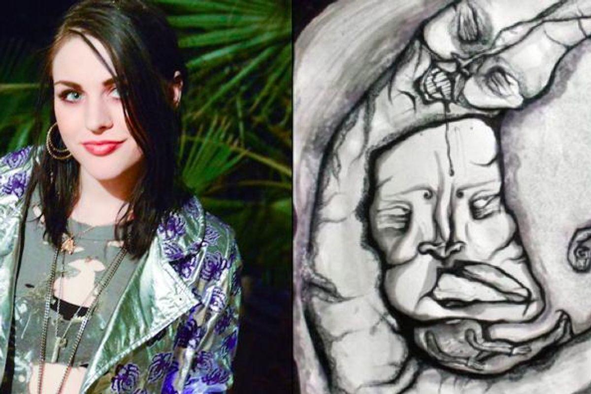 Frances Bean Cobain Is Selling Her Art Online
