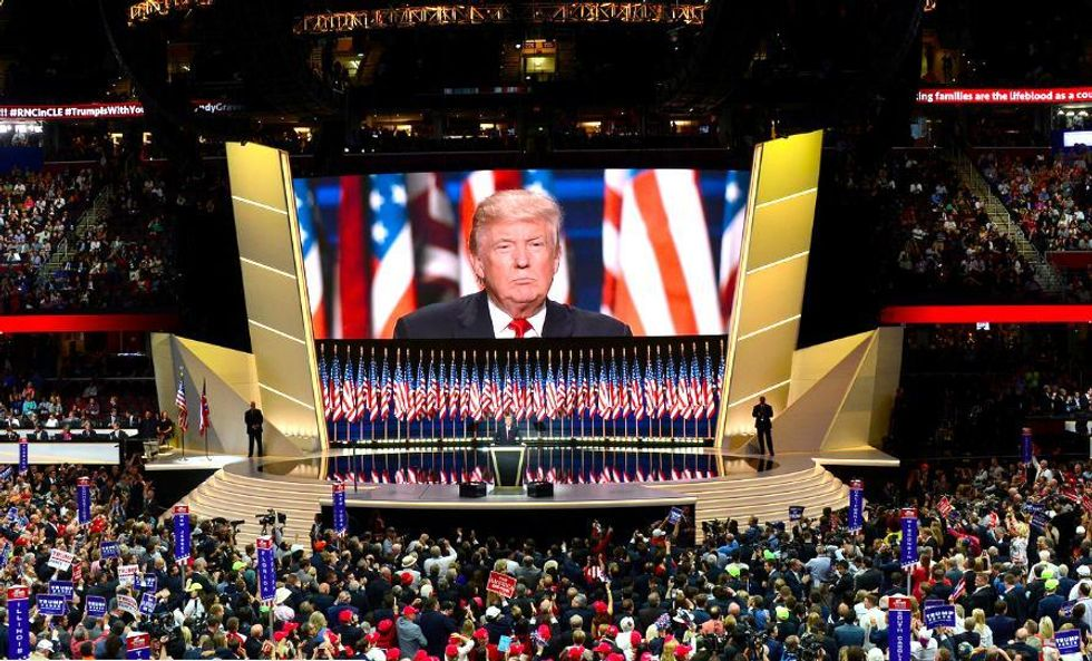 Trump RNC Speech Silent on Climate Change, Continues Bitter Fight Against Wind Farm in Scotland