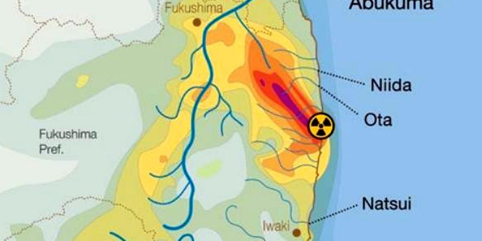 Radiation Along Fukushima Rivers Up to 200 Times Higher Than Pacific Ocean Seabed