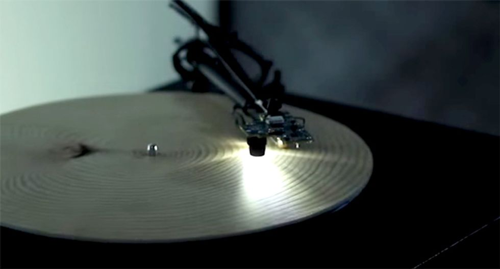 Artist Invents Record Player to Listen to Music From Tree Rings