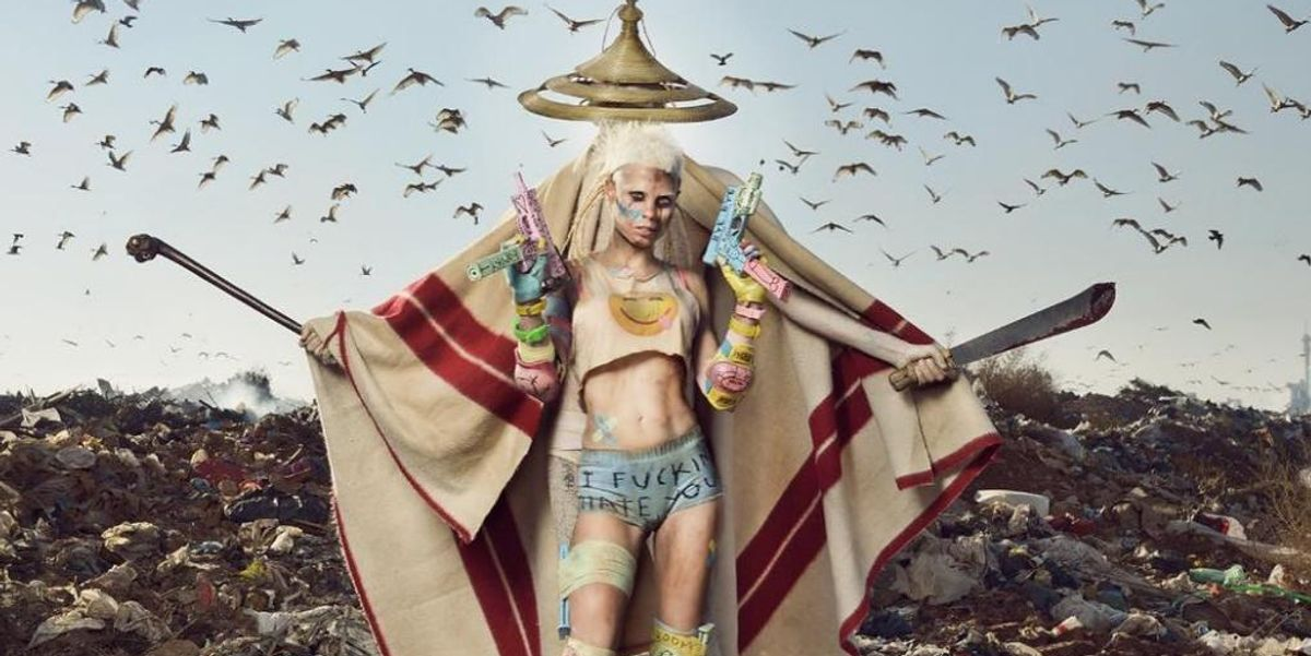 """Die Antwoord Go Gabber With Their New, High-Velocity Track """"Banana Brain"""""""