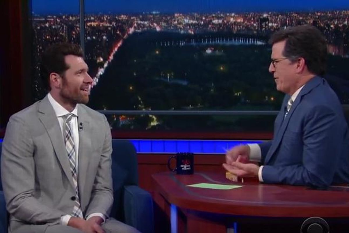 """Billy Eichner Goes Off On Trump, Mike Pence On """"The Late SHow"""""""