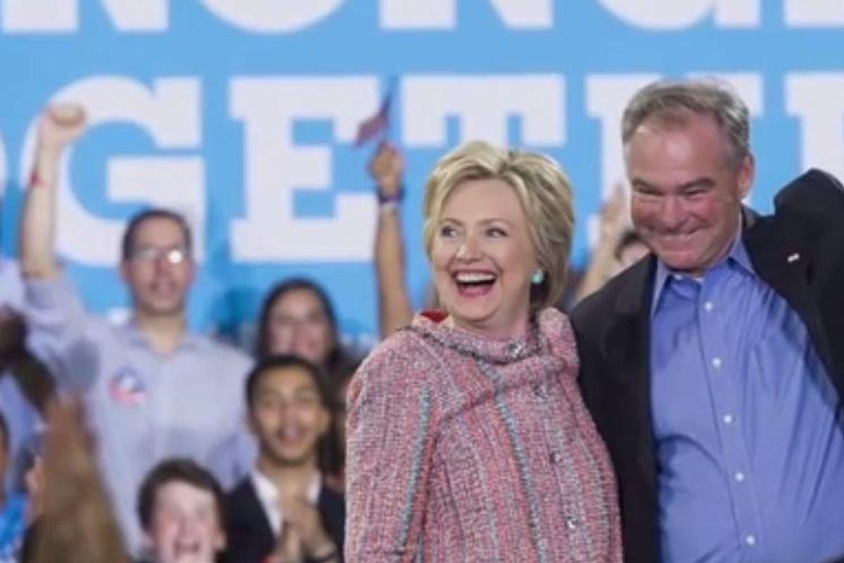Hillary Clinton Has Officially Chosen Her Running Mate