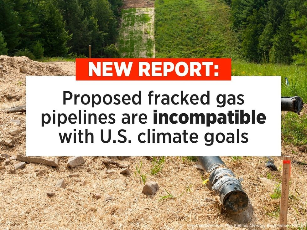 19 Proposed Fracking Pipelines Would Push Us Past Point of No Return, Report Finds
