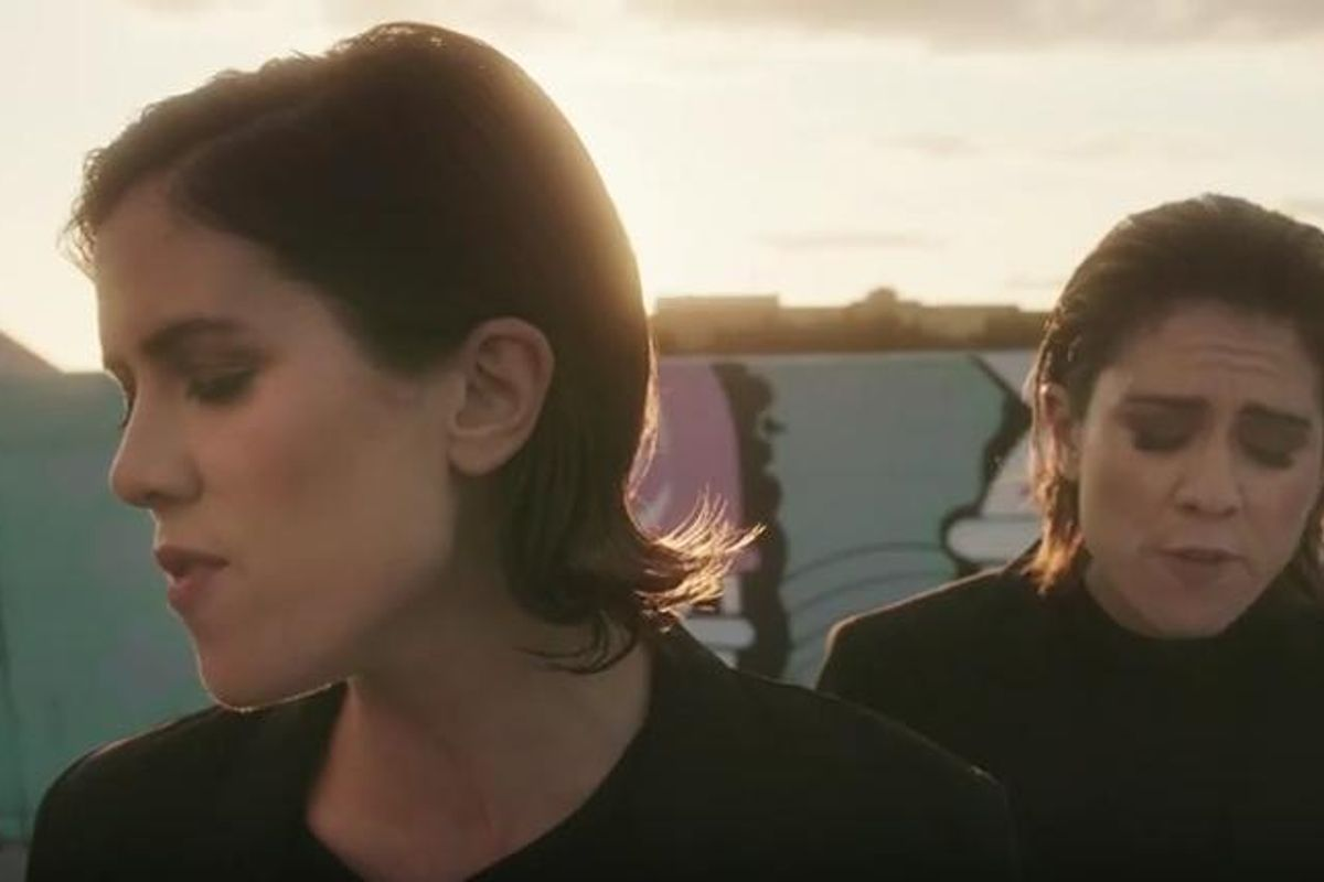 "Watch Tegan and Sara's New Video For ""BWU"""
