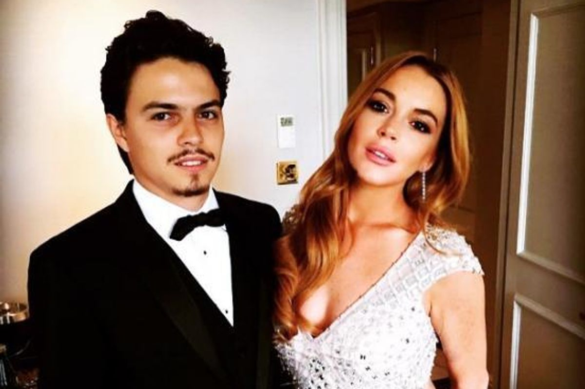 Lindsay Lohan Goes Nuclear On Social Media, Accusing Her Fiancé of Cheating And Hinting She's Pregnant