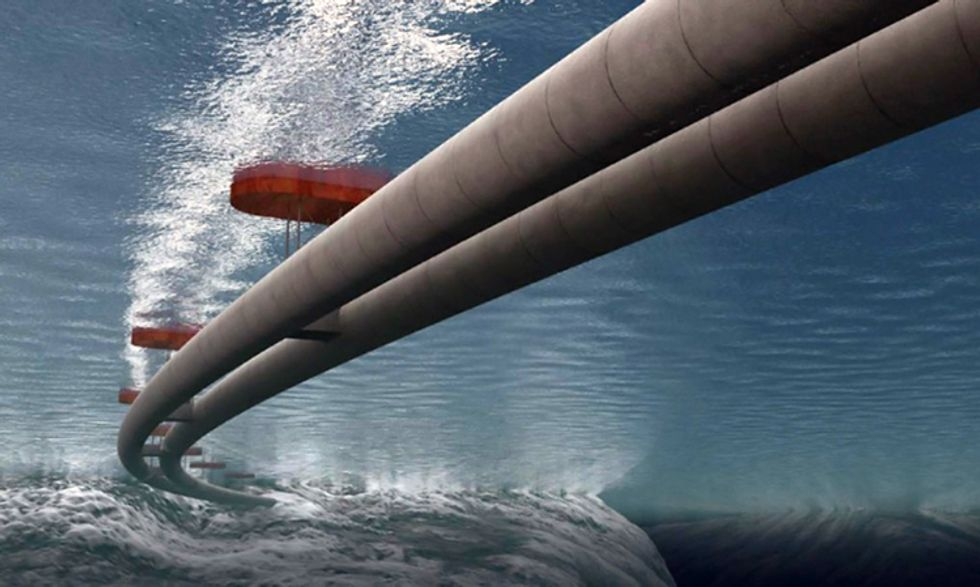 Norway to Build World's First Floating Underwater Tunnels