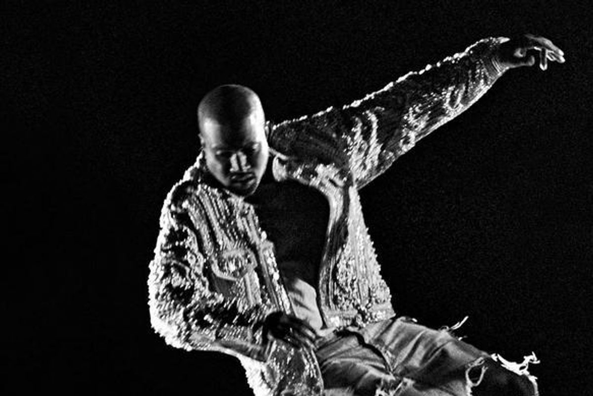 Kanye West Stars In The Balmain Fall/Winter 2016 Campaign