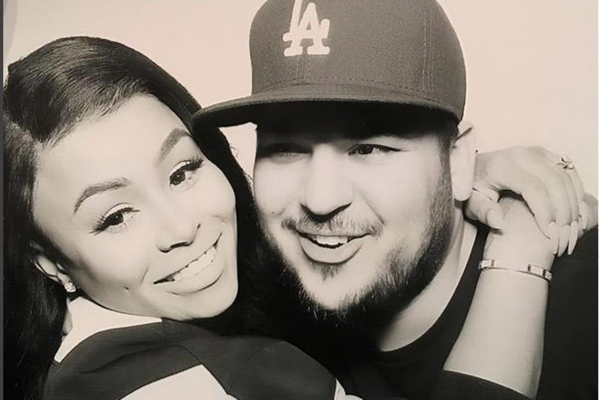 Rob Kardashian Has Unfollowed/Deleted Blac Chyna From His Instagram