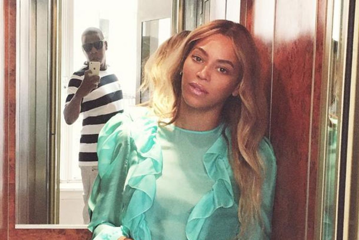 Did Jay Z *Really* Take This Photo of Beyoncé?