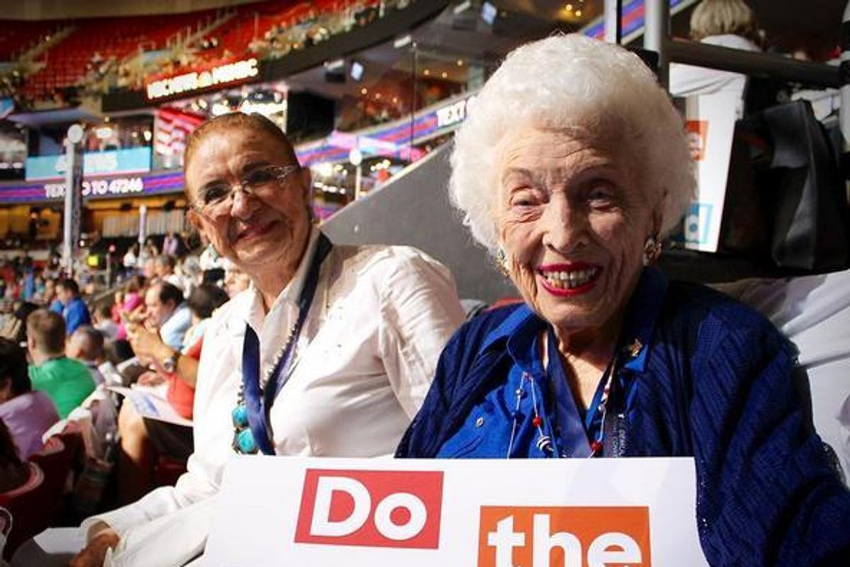 This 102-Year-Old Woman At the Democratic Convention Is A God Damn National Treasure