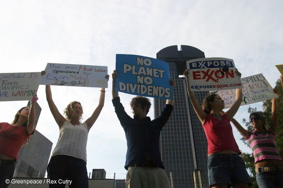3 Reasons We Oppose a Congressional Move to Protect Exxon