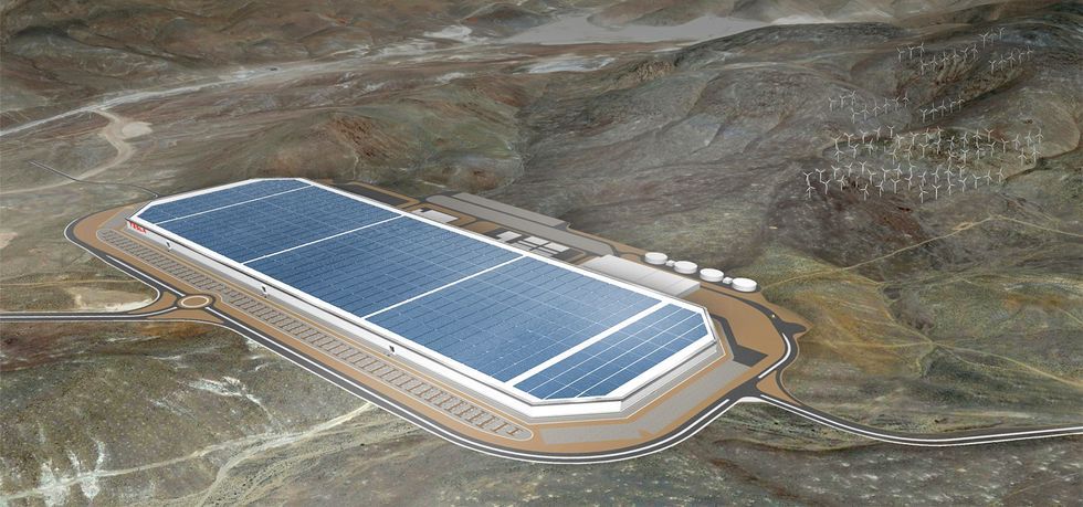 Elon Musk Gives Sneak Peek of Gigafactory at Grand Opening Celebration