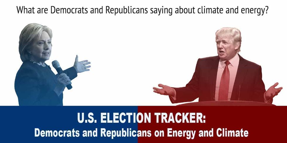 U.S. Election Tracker: Democrats and Republicans on Energy and Climate