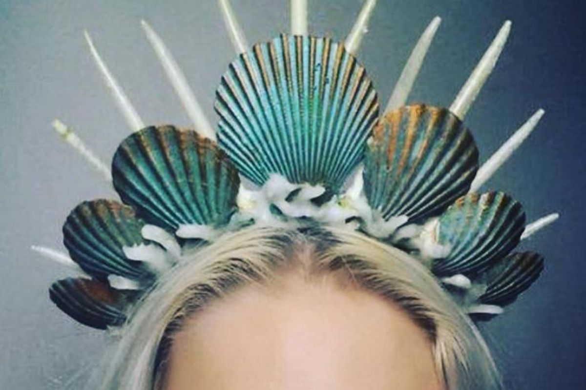 The Mermaid Crown Is Summer's Most Questionable New Trend