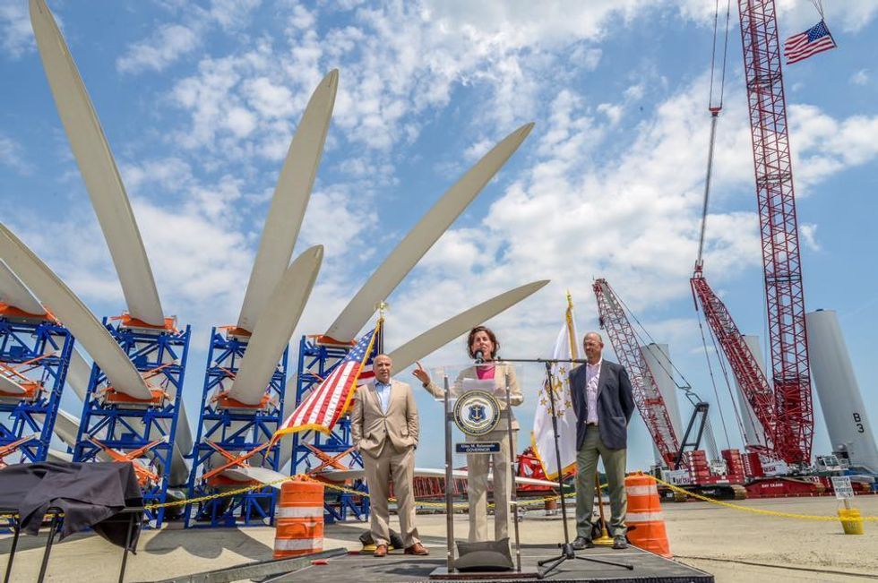 First Offshore Wind Farm in U.S. Begins Final Construction Phase