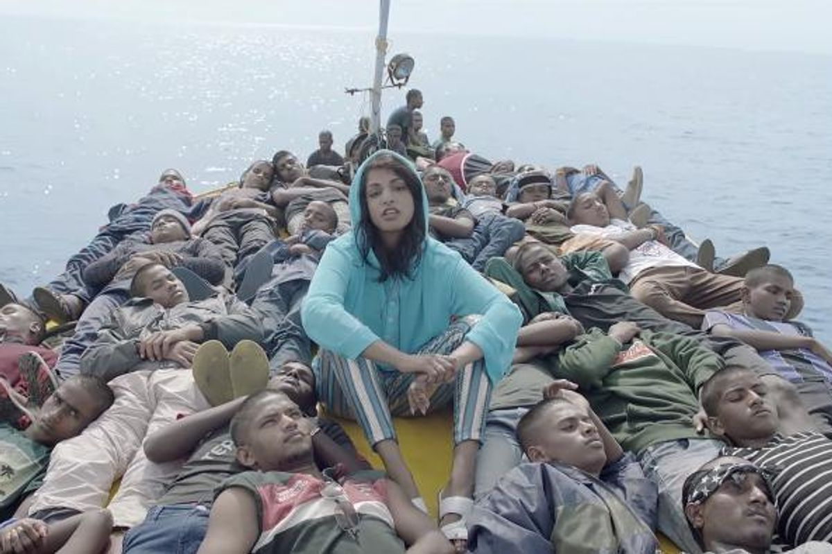 "M.I.A. Calls Out The VMAs For Promoting ""Racism, Sexism, Classism, Elitism"""
