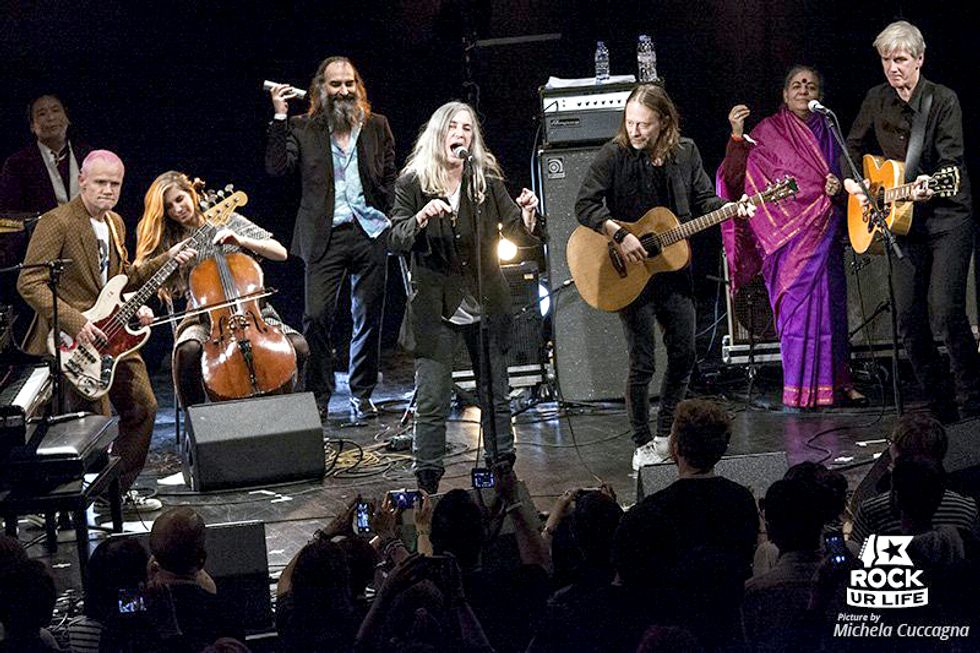 Patti Smith, Thom Yorke, Flea and More Featured on Just Released Pathway to Paris Album
