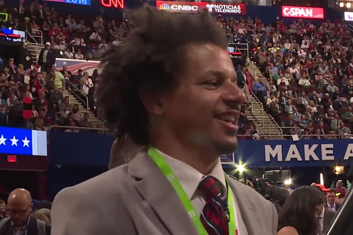 Eric André Thought the RNC Would Be the Death of Him