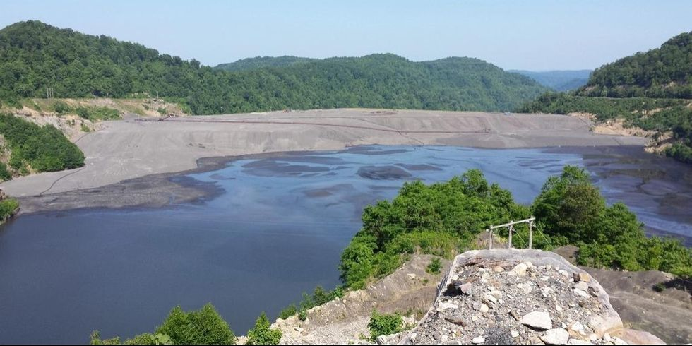 Here's What 7.8 Billion Gallons of Toxic Coal Sludge Looks Like