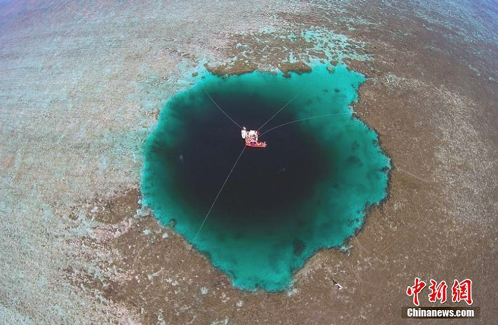 World's Deepest Blue Hole Discovered in South China Sea