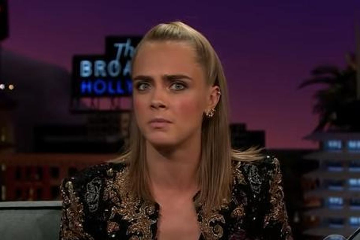 Cara Delevingne Pretended to Be A Ghost To Scare Kesha At Taylor Swift's House