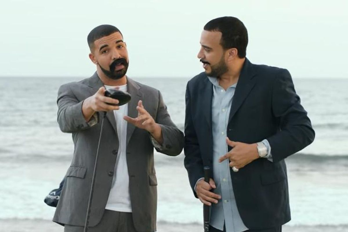 French Montana And Drake Pretend To Be Latino Golf Tournament Hosts In 'No Shopping' Video (WHY?)