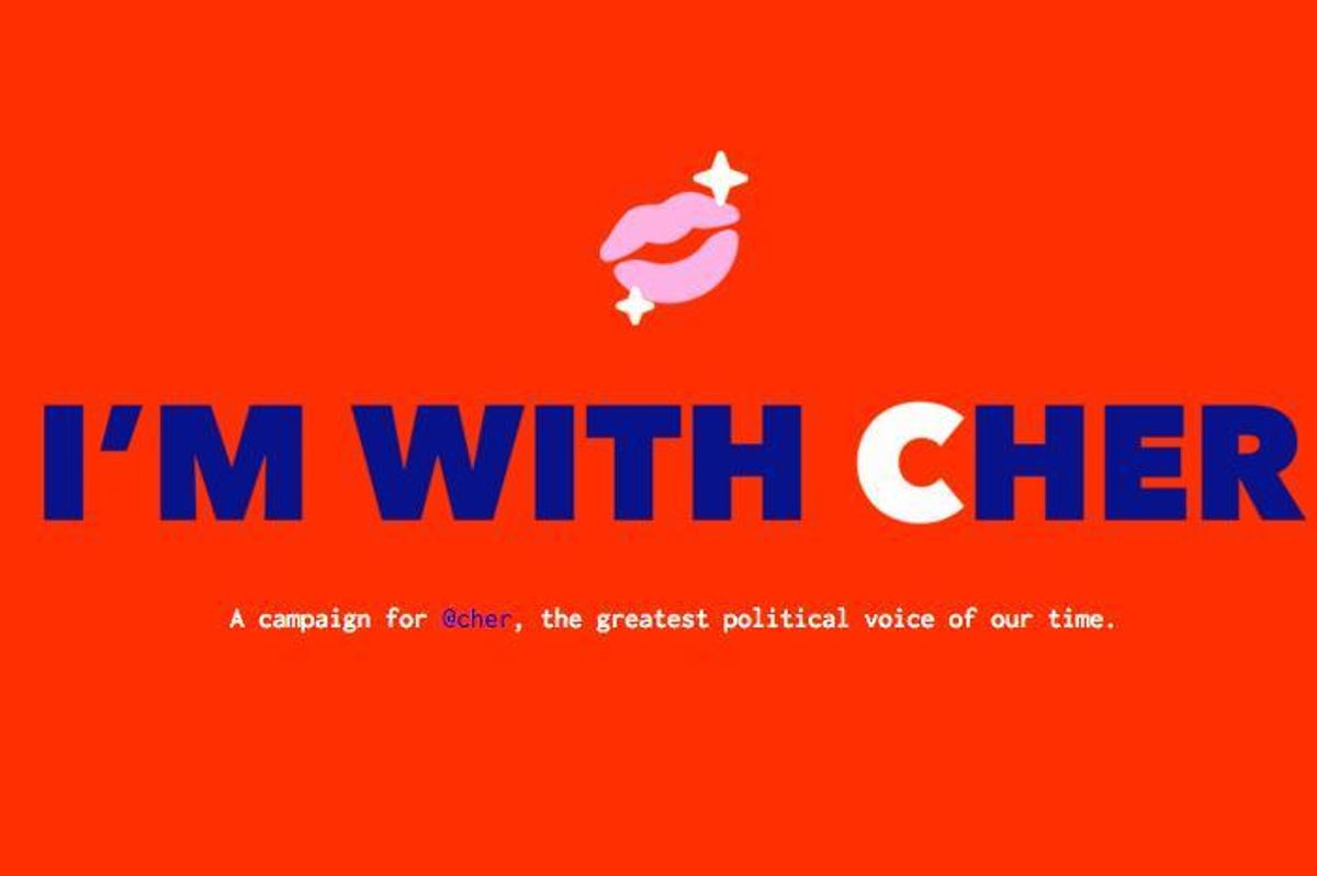 """""""I'm With Cher"""" Is the Anti-Trump Swag Site You Need"""