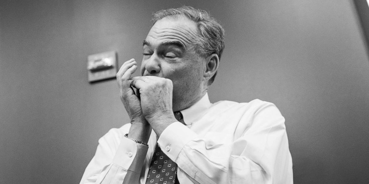 Democratic VP Candidate Tim Kaine Is The Unofficial DJ For Hillary's Campaign