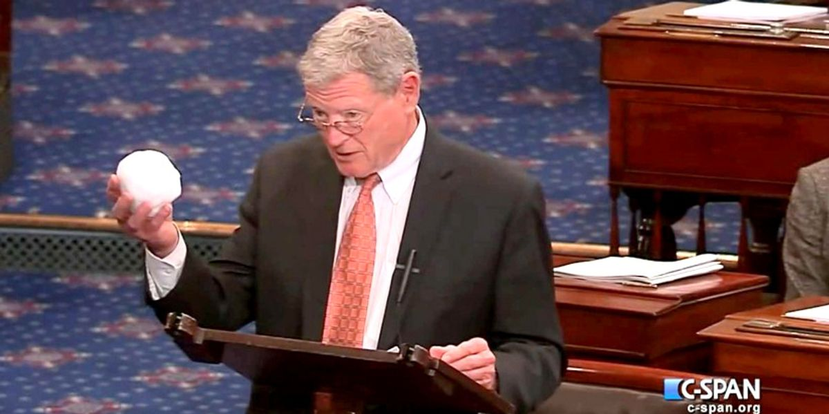 Listen to Sen. Inhofe's Response to His Granddaughter Asking Him: 'Why Is  It You Don't Understand Global Warming?' - EcoWatch