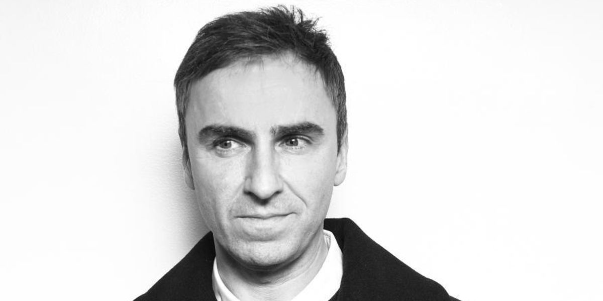 Raf Simons Is In At Calvin Klein