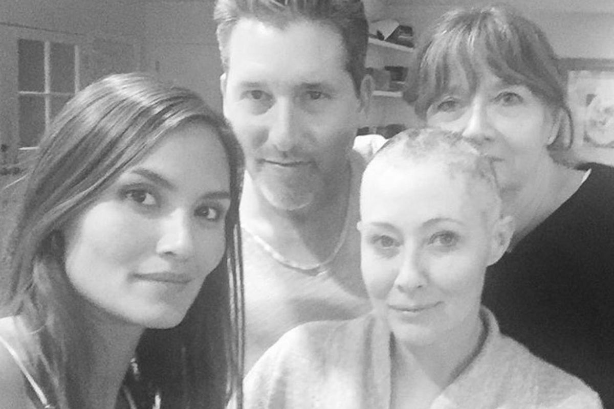 Shannen Doherty Says Her Cancer Has Spread