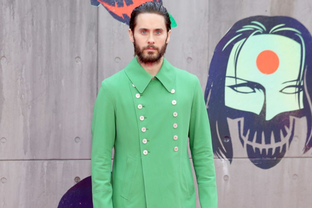 The Internet Is Having a Field Day With Jared Leto's Green Jacket