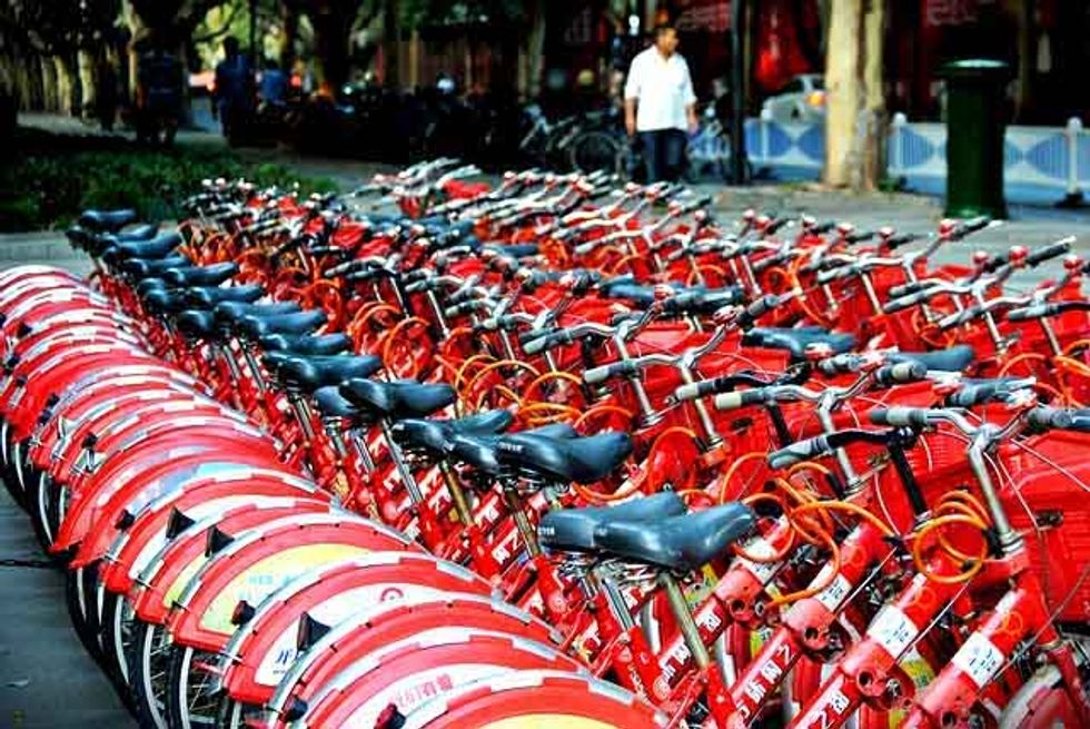 The 'Biggest, Baddest' Bike Share Program in the World