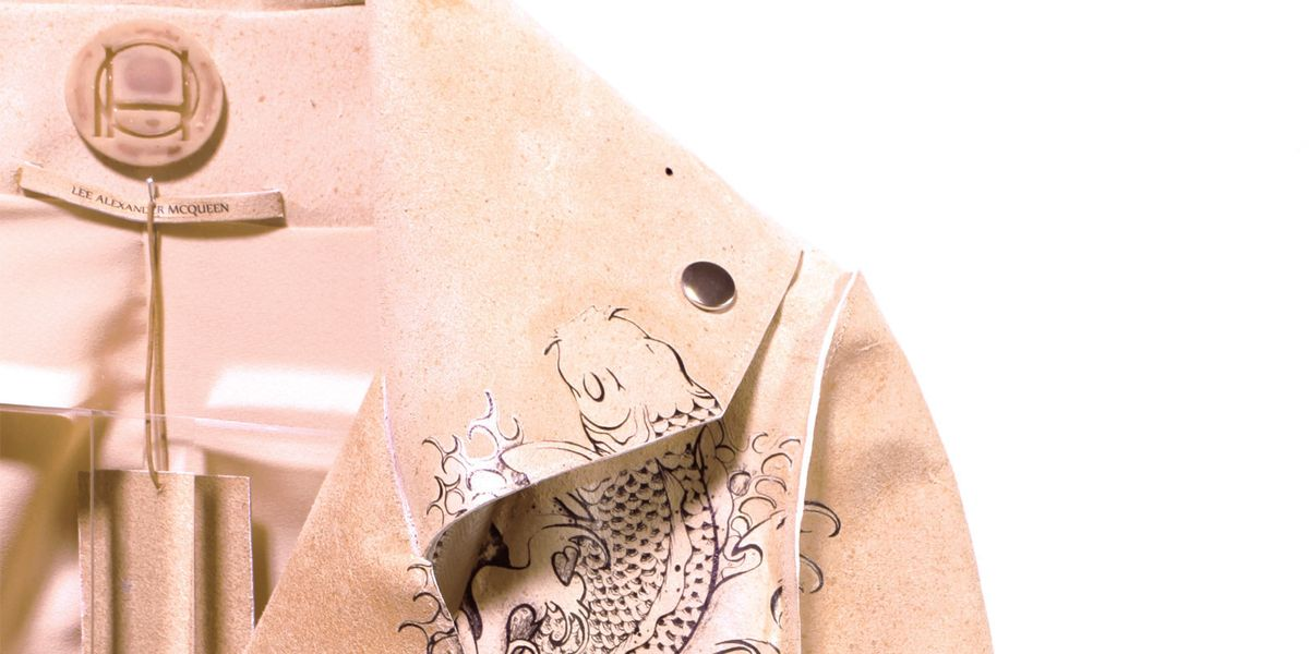 Meet The Designer Turning Alexander McQueen's Skin Into Luxury Leather Products