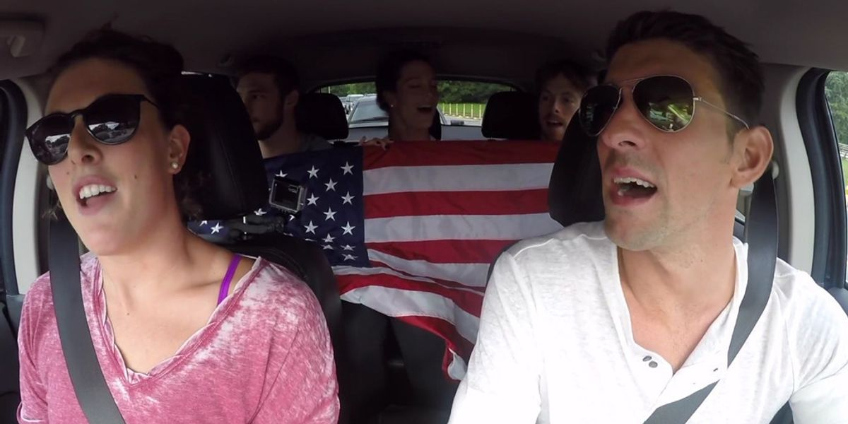The USA Olympic Swim Team's Carpool Karaoke Video is a Goddamn Delight