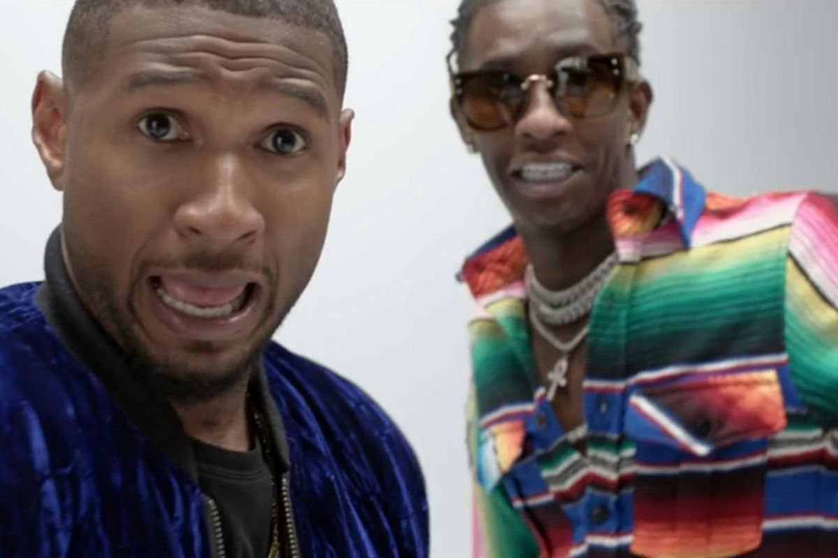 """Watch Usher and Young Thug Shake It Up In The New Video For """"No Limit"""""""